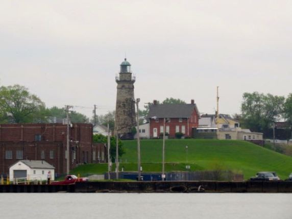 Another old lighthouse inside the harbor.